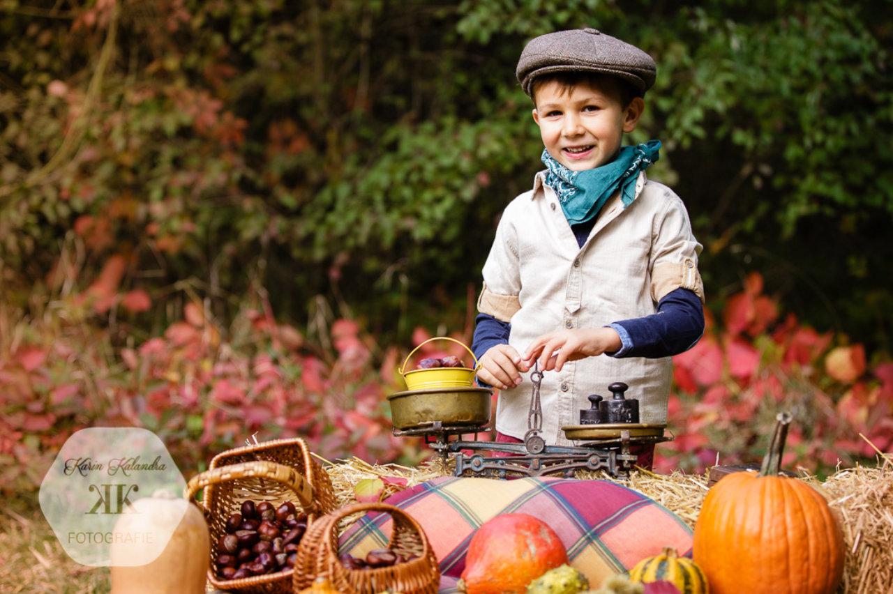 Herbstliches Mini-Kinderfotoshooting #1