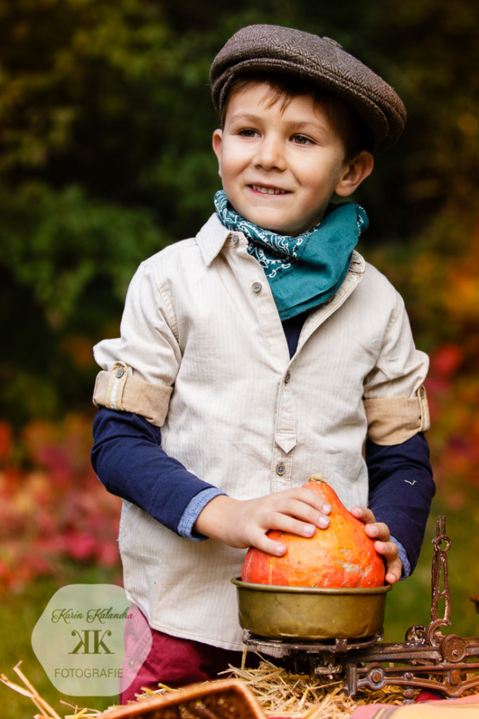 Herbstliches Mini-Kinderfotoshooting #2