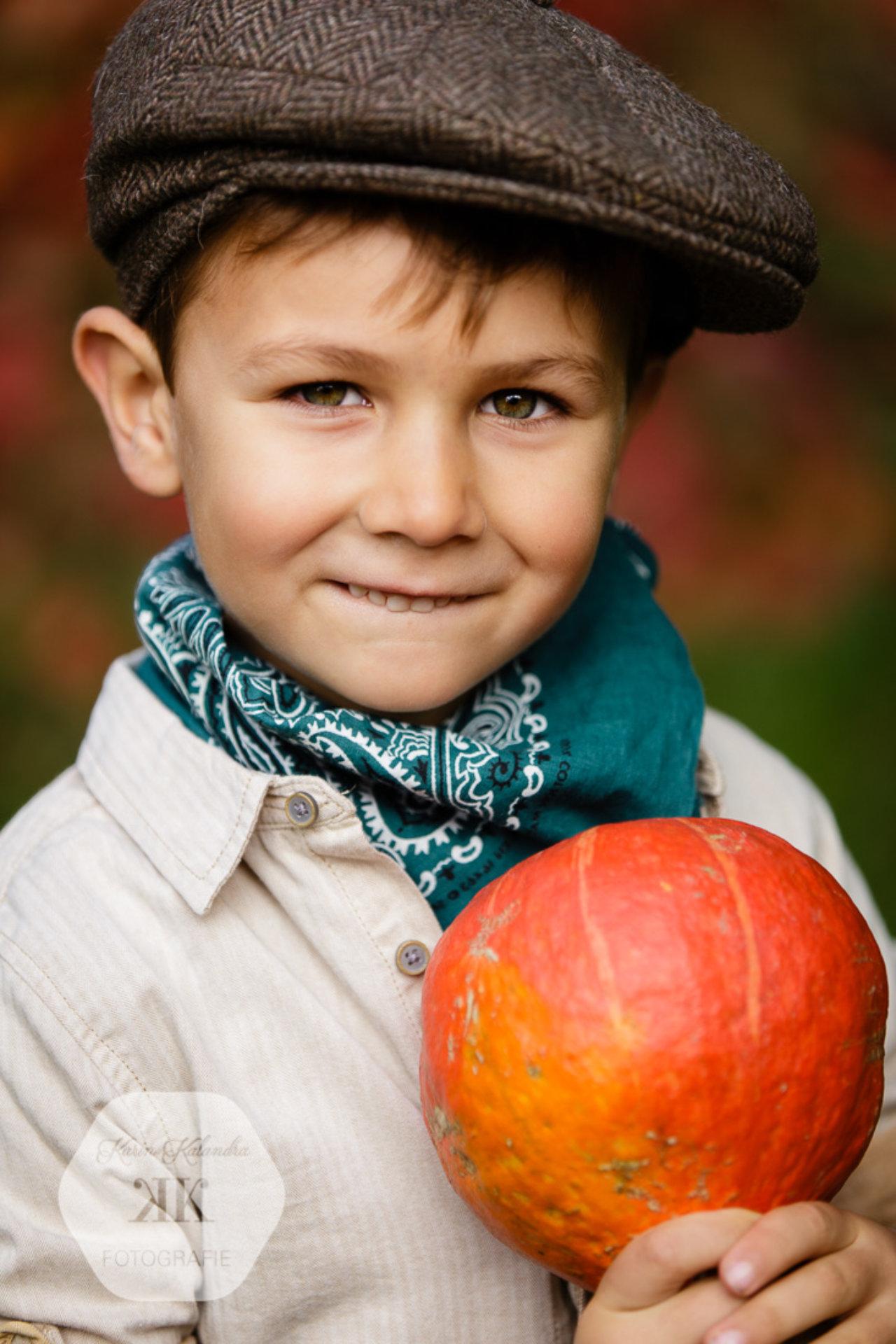 Herbstliches Mini-Kinderfotoshooting #3