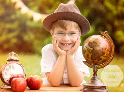 Kindergartenfotografie – 1. Schultag Raphael