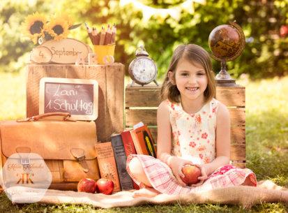 Kindergartenfotos – 1. Schultag Lani