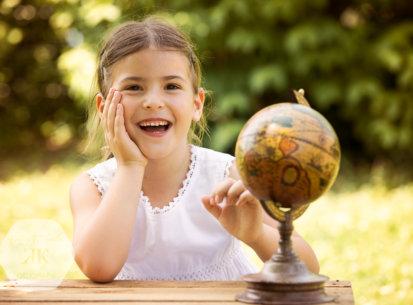 Kindergartenfotografie – 1. Schultag Zoe