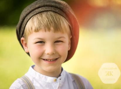Kindergartenfotografie – 1. Schultag Lukas