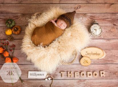 Baby-Fotoshooting Wien – Theodor – 9 Tage