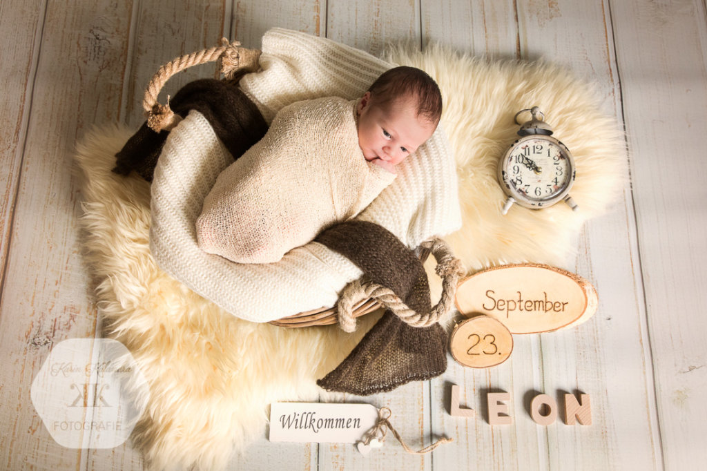 Fotoshooting mit Baby Leon #1