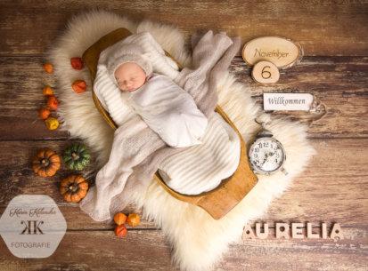 Newborn-Fotos Aurelia – 10 Tage