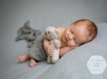 Newbornfotoshooting – Fynn – 12 Tage