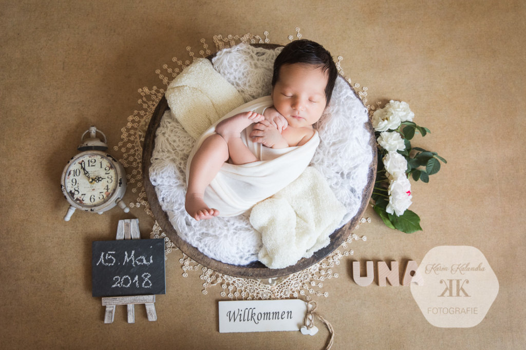 Neugeborenenfotoshooting Wien #1