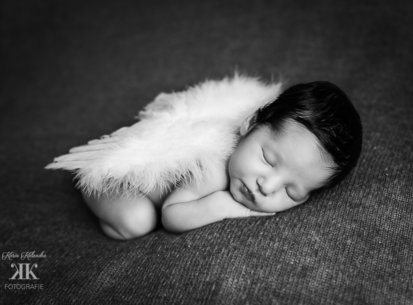 Neugeborenenfotoshooting Wien – Una – 7 Tage