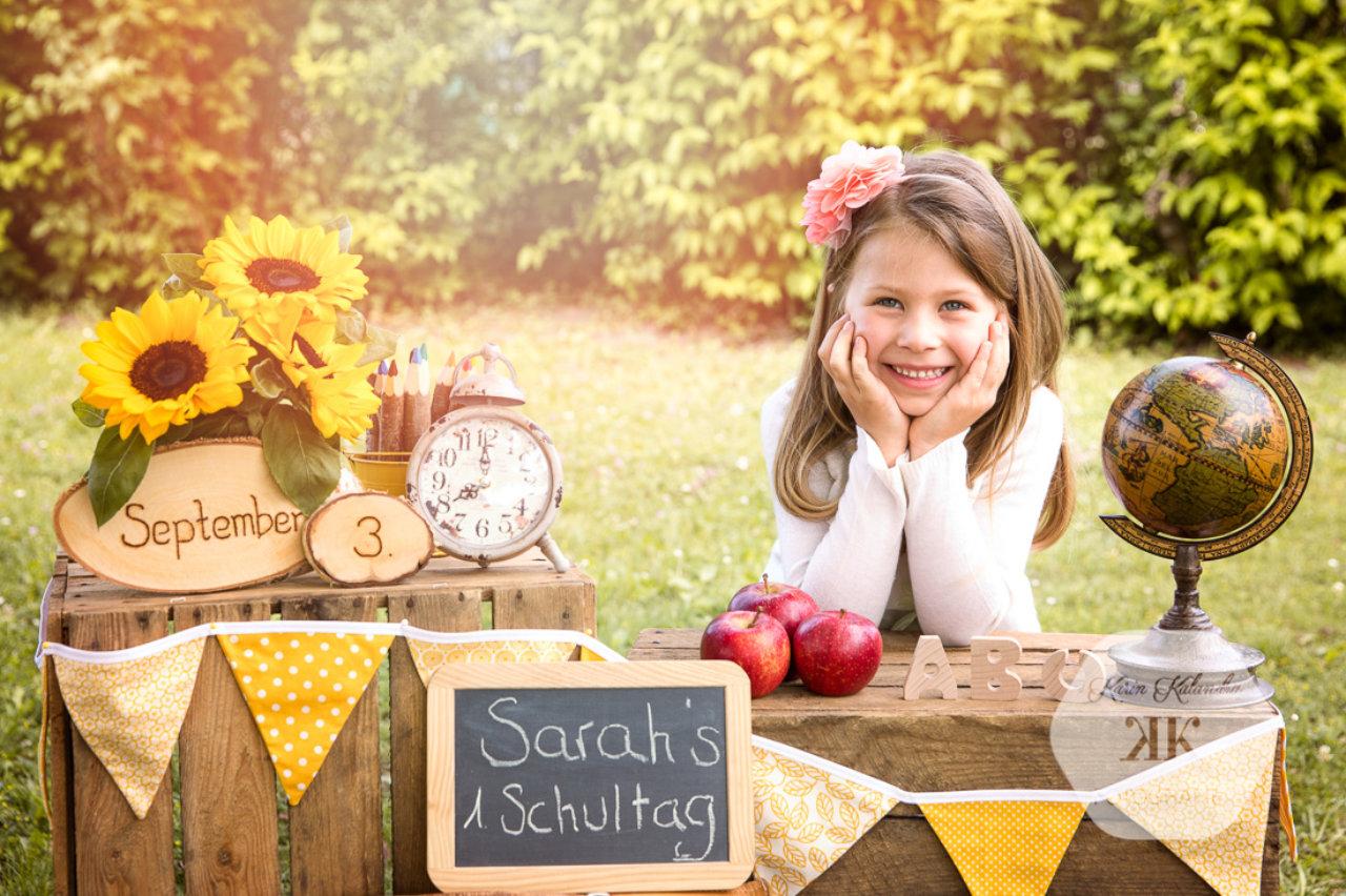 Erster Schultag Fotografie #2