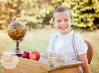 Erster Schultag – Fotoshooting