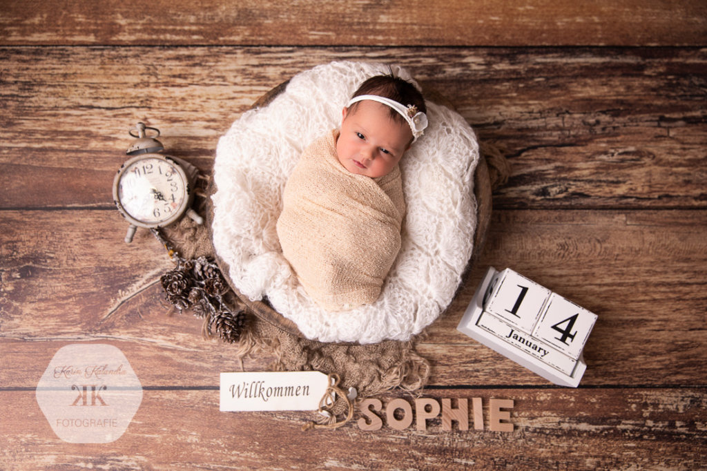 Neugeborenen-Fotoshooting #1