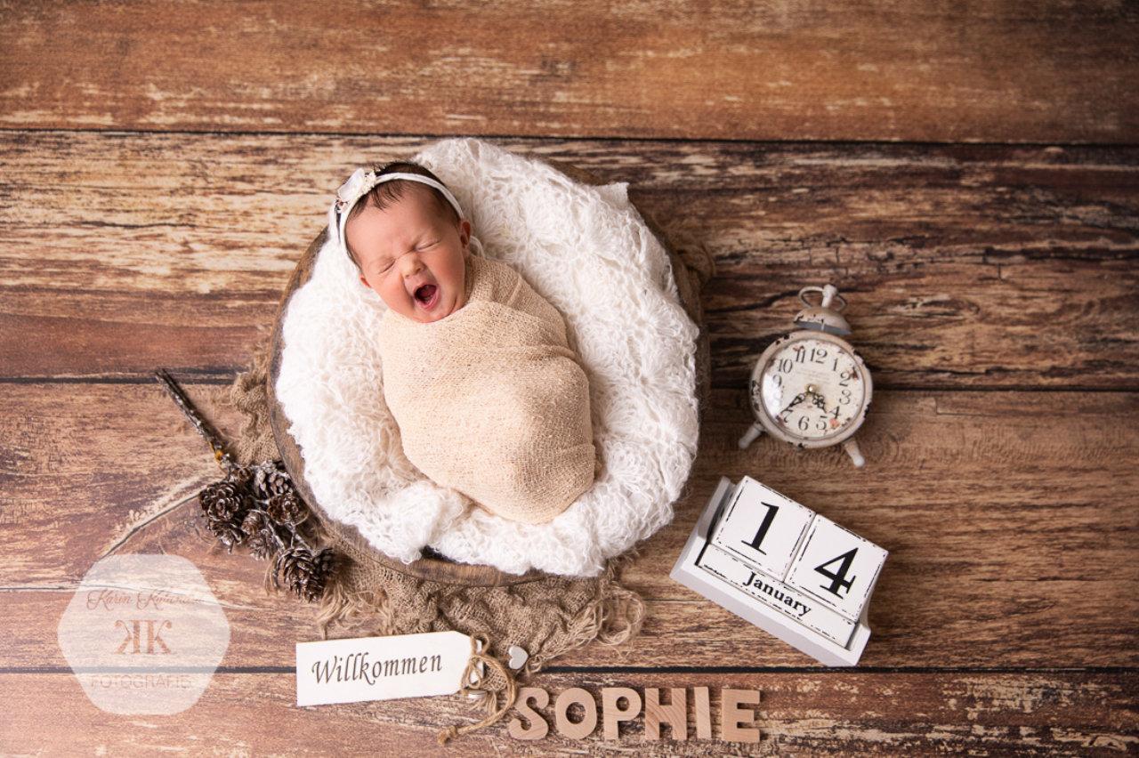 Neugeborenen-Fotoshooting #3