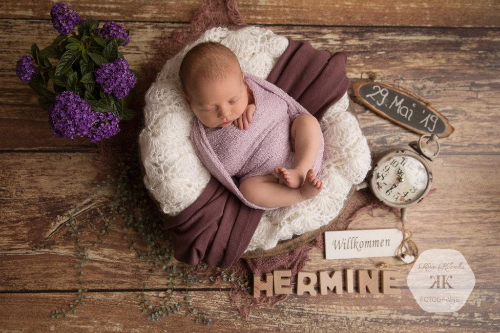 Zauberhaftes Neugeborenenfotoshooting #1