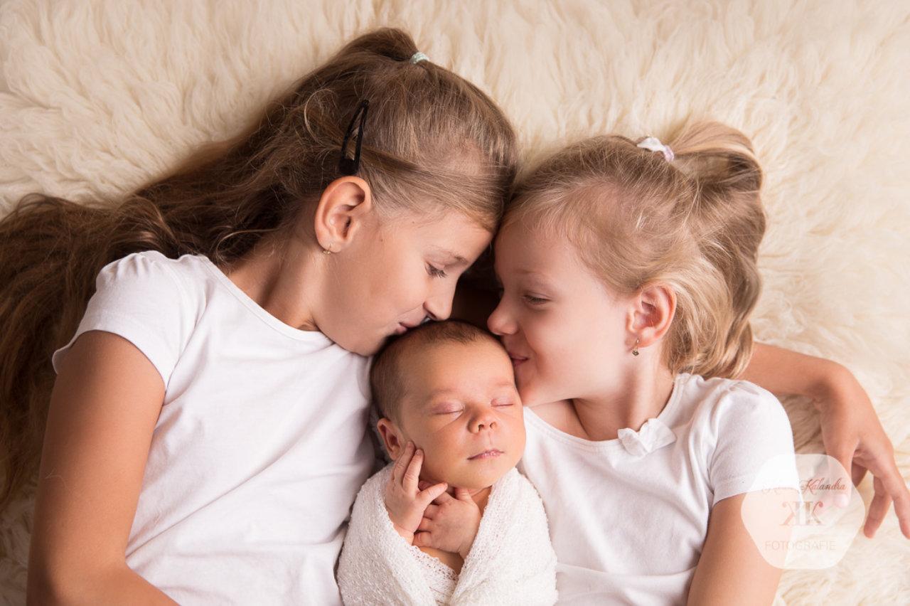 entzückendes Neugeborenenshooting #9