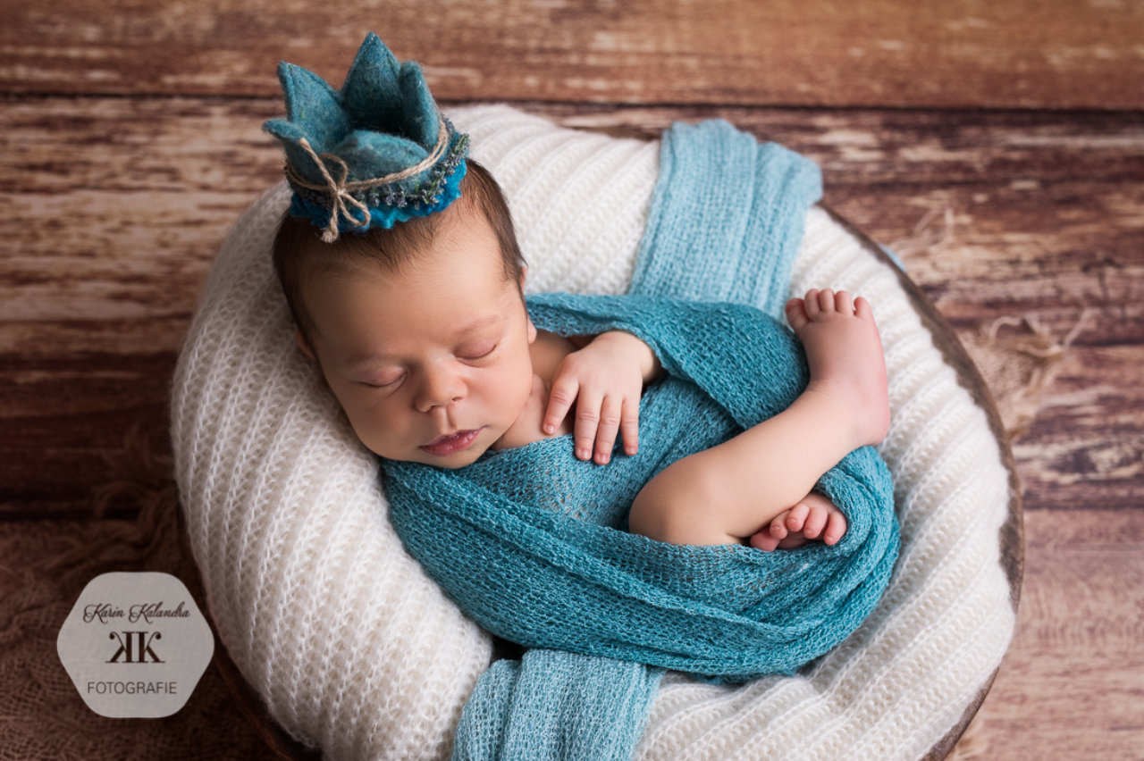 entzückendes Neugeborenenshooting #6