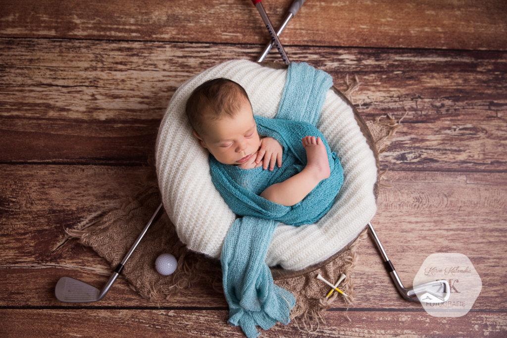 entzückendes Neugeborenenshooting #5