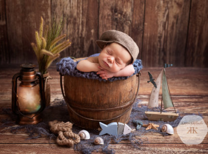 Entzückendes Neugeborenenshooting – Liam James