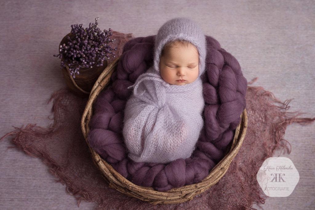 Neugeborenenfotoshooting mit Flora #5