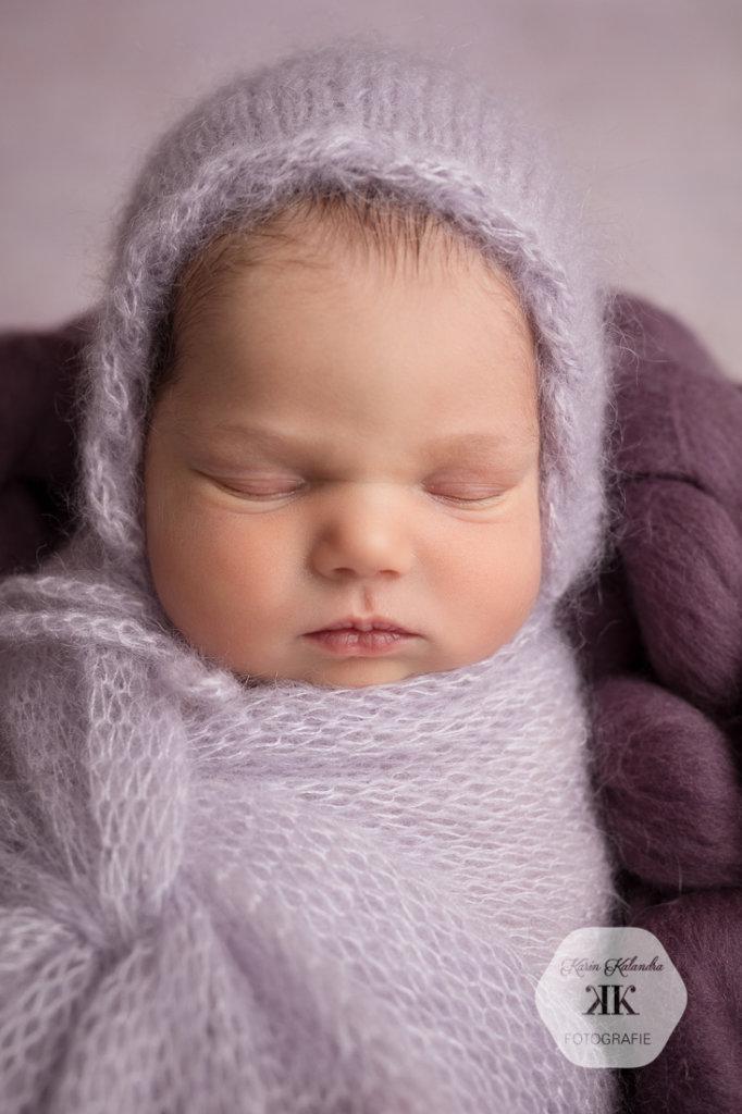 Neugeborenenfotoshooting mit Flora #7