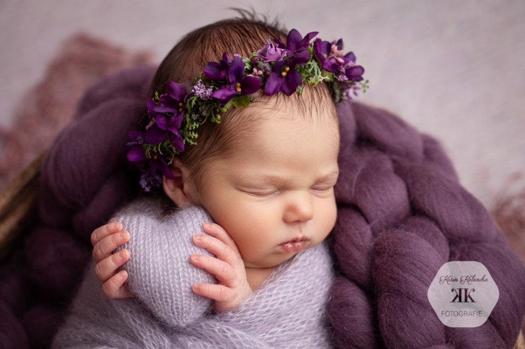 Neugeborenenfotoshooting mit Flora #9