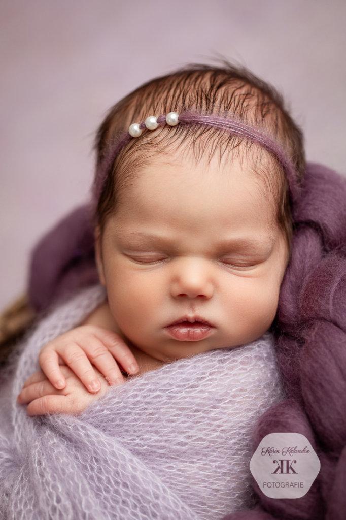 Neugeborenenfotoshooting mit Flora #8