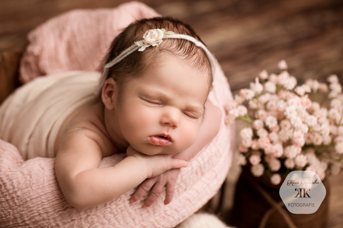 Neugeborenenfotoshooting mit Flora #4