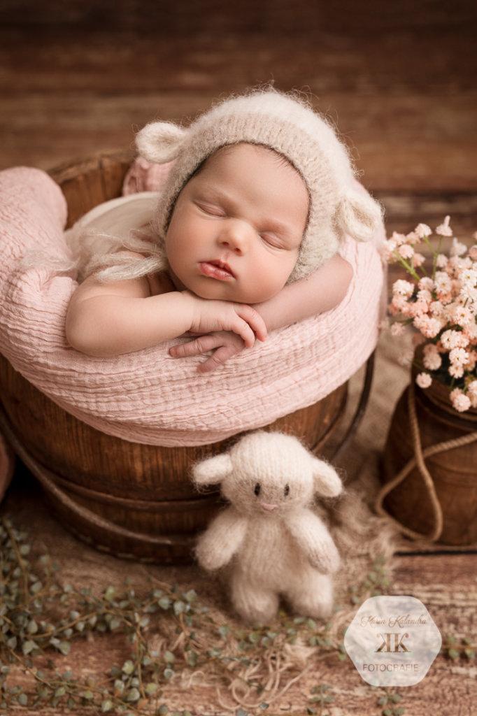 Neugeborenenfotoshooting mit Flora #2