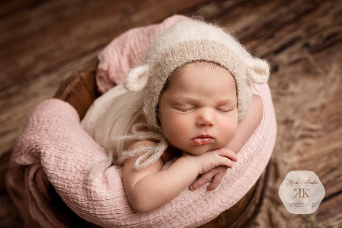 Neugeborenenfotoshooting mit Flora #3
