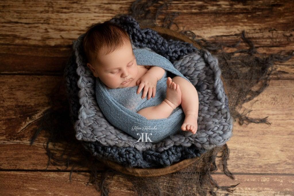 Neugeborenenbilder mit Constantin #1